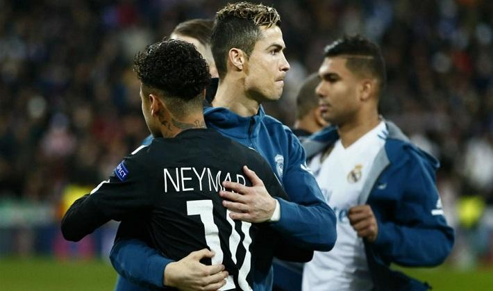 PSG-Real: Xavi gives his opinion on the performances of Neymar and Cristiano