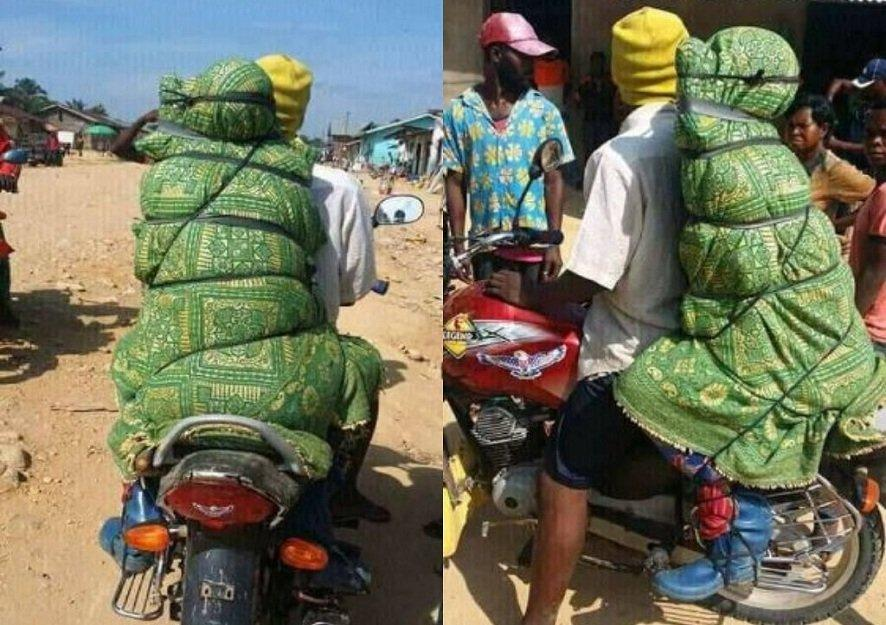 Photo of DRC: How motorcyclists make money from transporting corpses (photos)