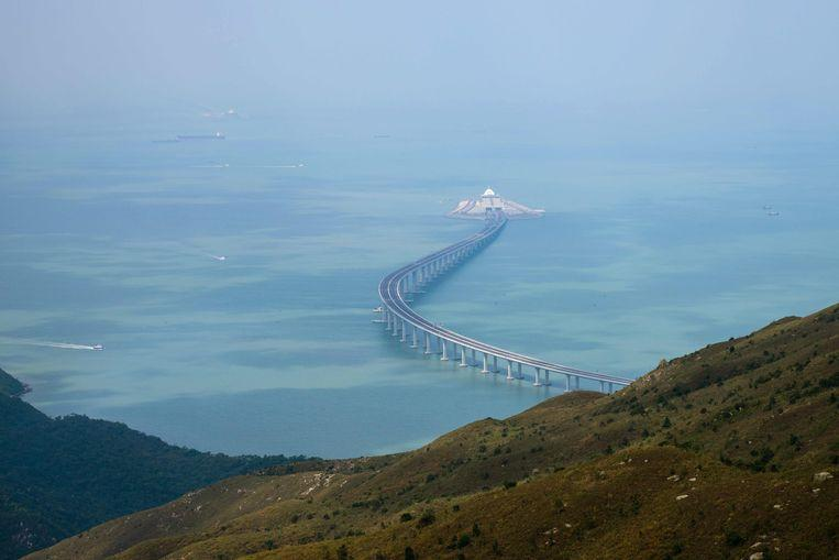 Photo of The longest sea bridge in the world will open next week