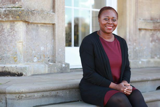 Photo of Olivette Otele, first black woman professor of history in UK