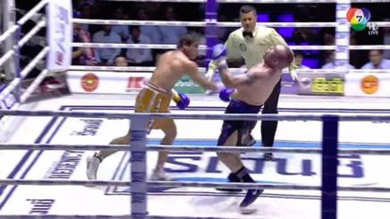 Photo of Thai boxer died after double KO, tribute ceremony for winner just continues