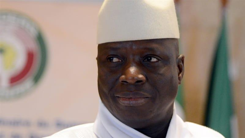 Photo of Yahya Jammeh Persona non grata in the United States