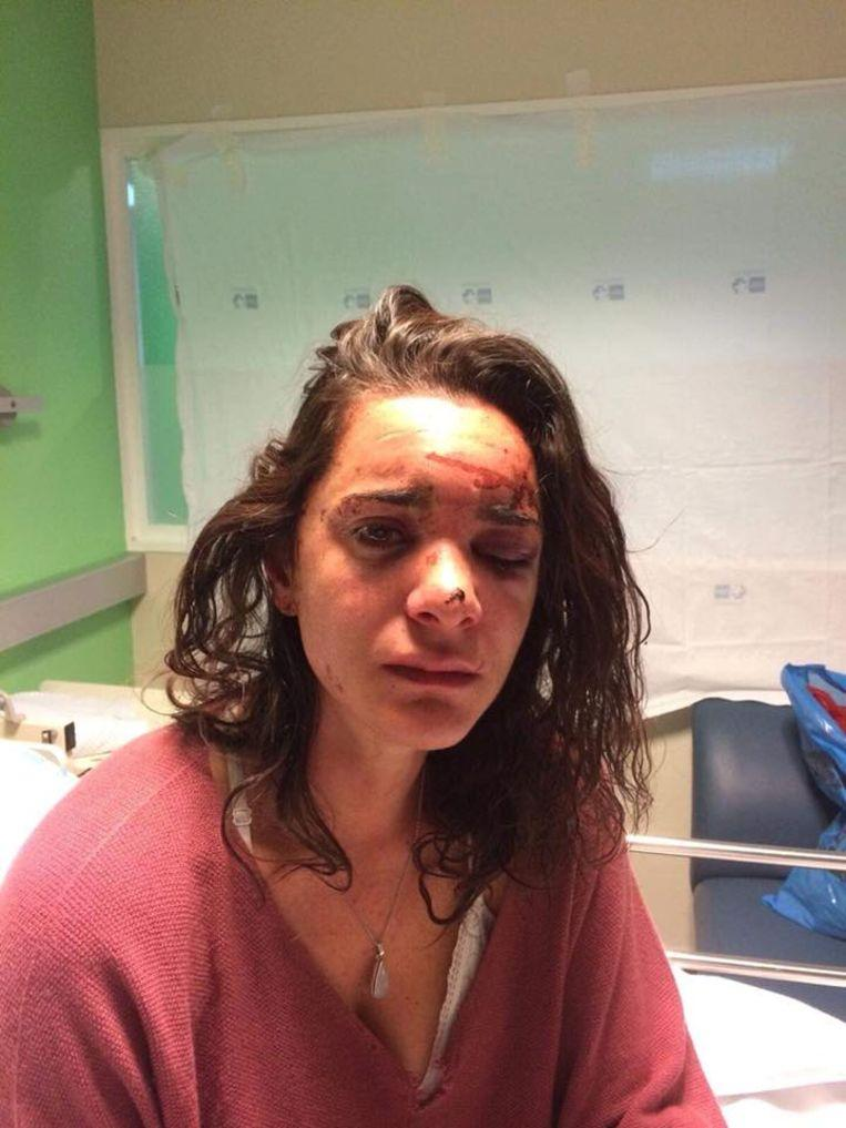 """Andrea (27) was heavily abused in Madrid: """"Nobody is invincible"""" 1"""