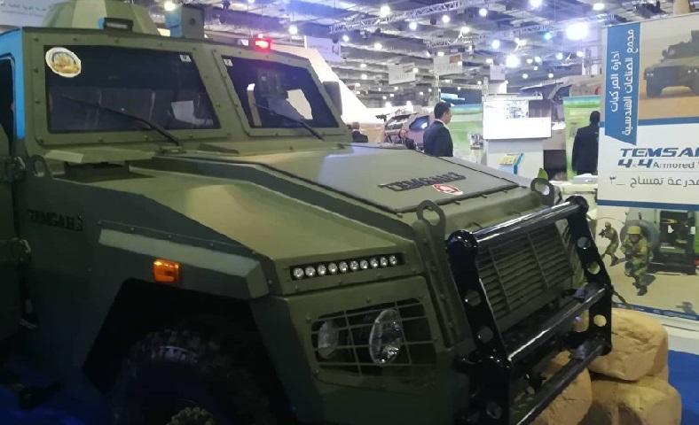 Egypt shows muscles by unveiling its own armored vehicle[Photos] 1