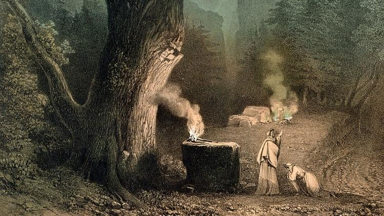 Who were the mysterious druids: wise ancient monks or ignorant and savage tribe that sacrificed humans? 1
