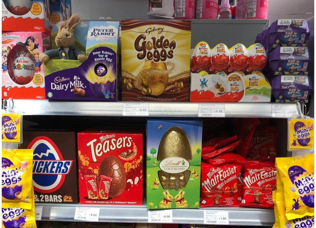Photo of Barely some days after Christmas, Easter eggs are in the racks