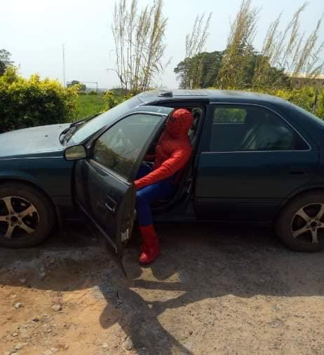 ANSU Lecturer become Spiderman to help his students [Photos] 3