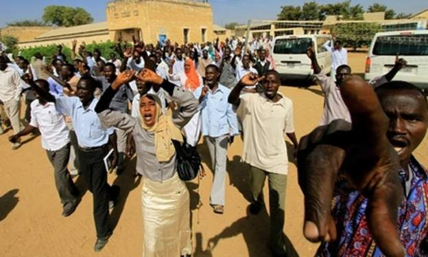 Sudanese protest against rising prices of bread