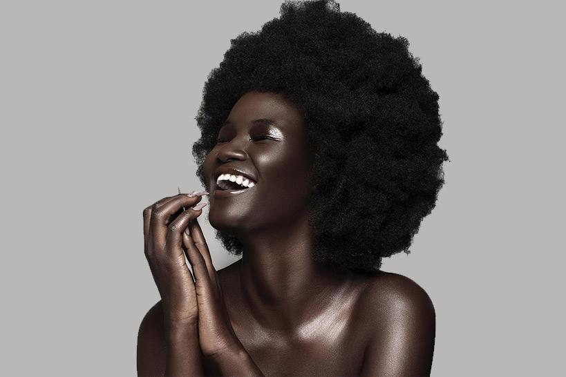 Khoudia Diop, new face of the brand Fenty Beauty [Photos] 4