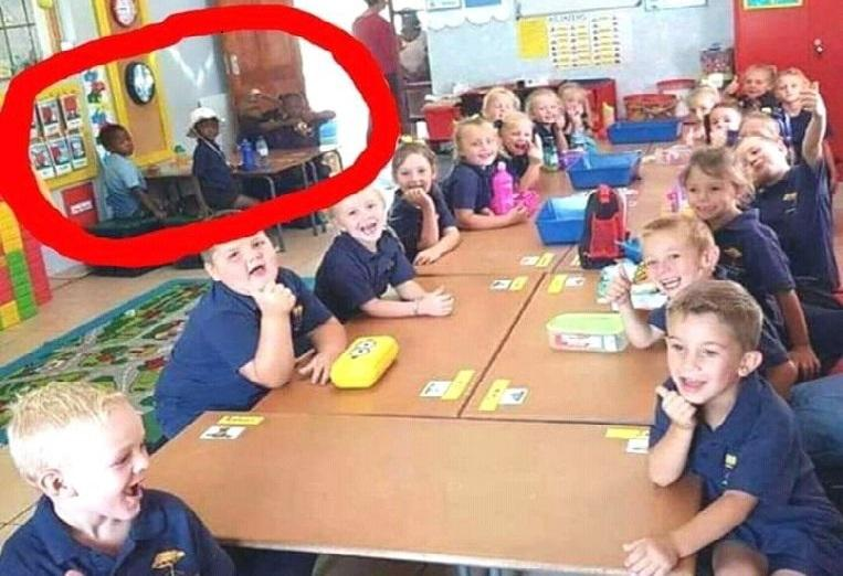 Photo of Teacher suspended for 'segregation' of black pupils in South African school