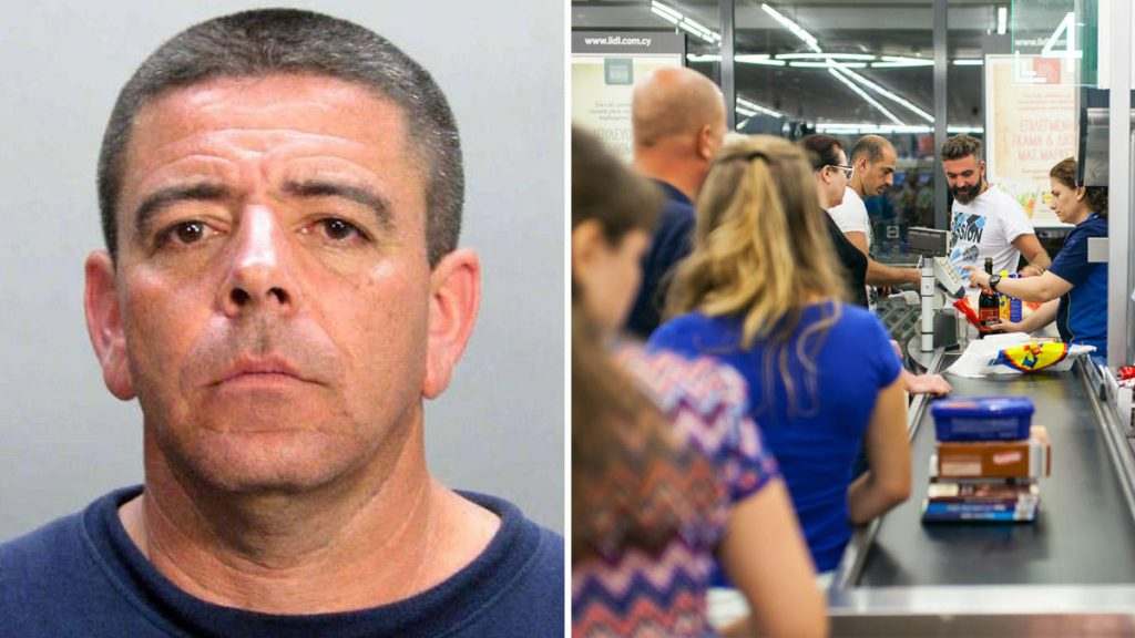 Man (59) caught abusing a girl (7) in the supermarket row! 1