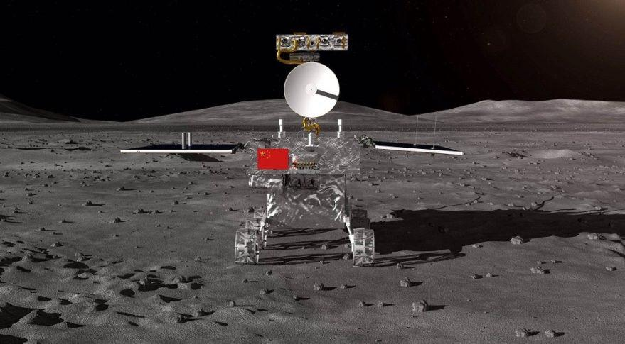 Chinese Chang'e 4 mission first successfully landed on the back of the moon 1