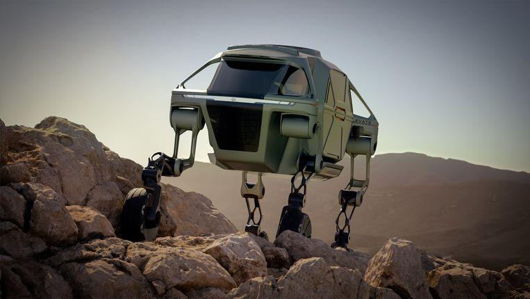 Walking car: Meet the Elevate, the car with robot 'walking' legs 2