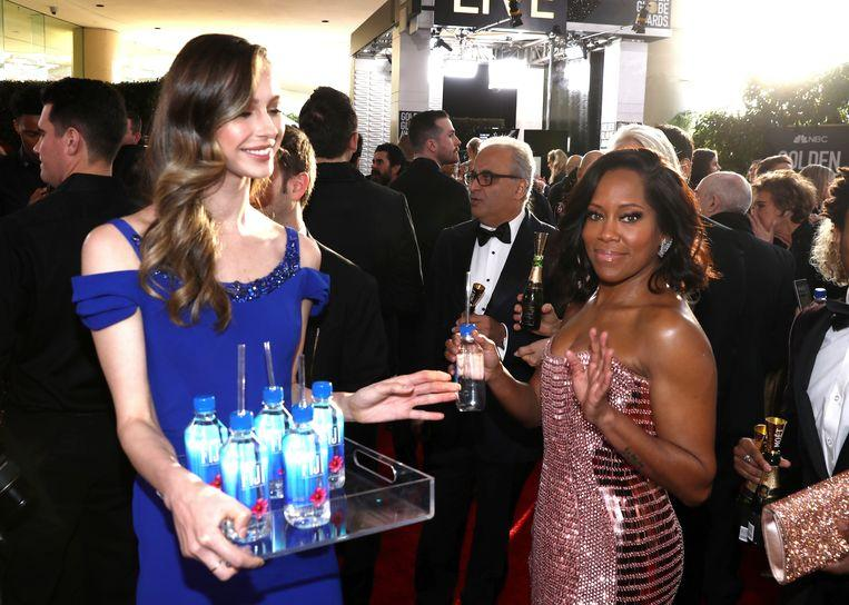 The Fiji water girl was the real star of the Golden Globes 4