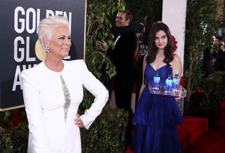 The Fiji water girl was the real star of the Golden Globes 2
