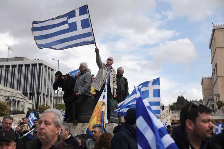 Thousands of demonstrators in Athens against agreement on new name 1