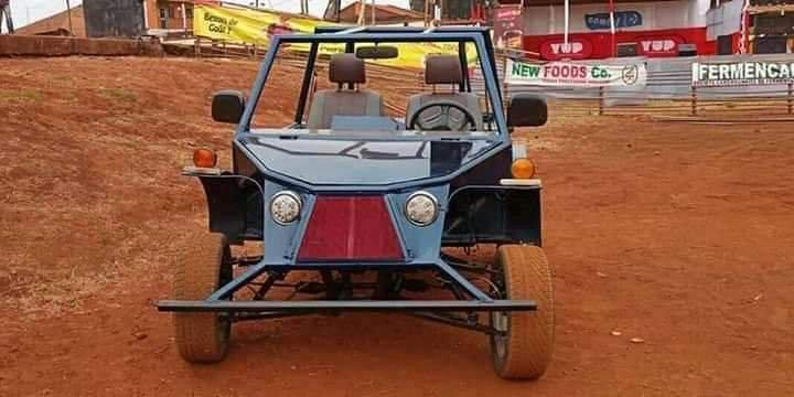 "First ""made in Cameroon"" car by Cedric Simen, the designer [Photos] 1"
