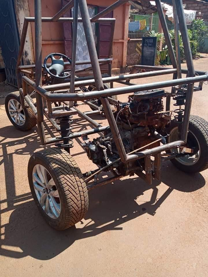 "First ""made in Cameroon"" car by Cedric Simen, the designer [Photos] 2"