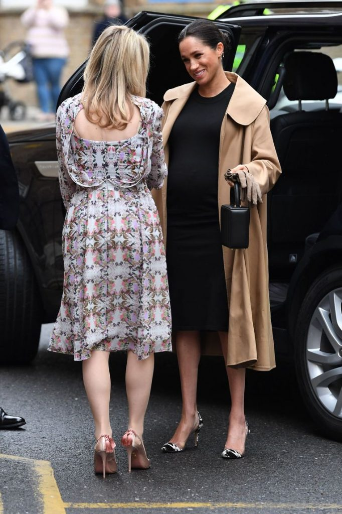 The most beautiful pregnancy outfits of Meghan Markle 1