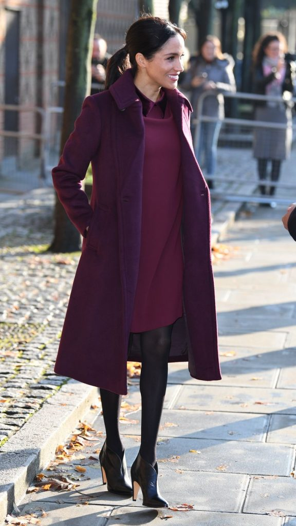 The most beautiful pregnancy outfits of Meghan Markle 3