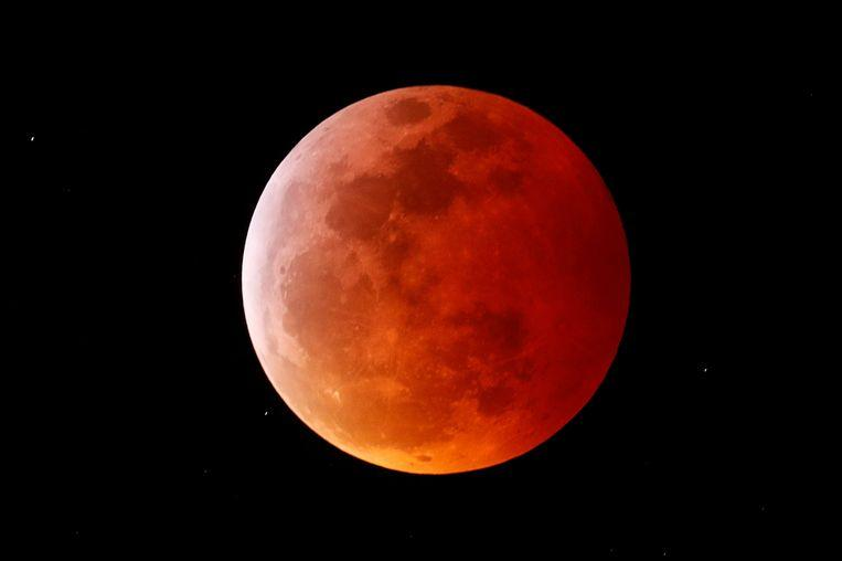 Photos: So beautiful is the total lunar eclipse 3