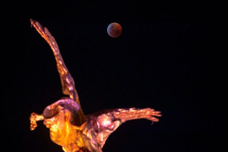 Photos: So beautiful is the total lunar eclipse 1