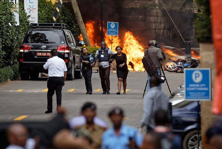 Terror group al-Shabaab attacks hotel and office complex in Nairobi 3