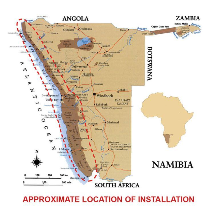 Namib desert: 'Africa' by Toto installed to play till eternity 2