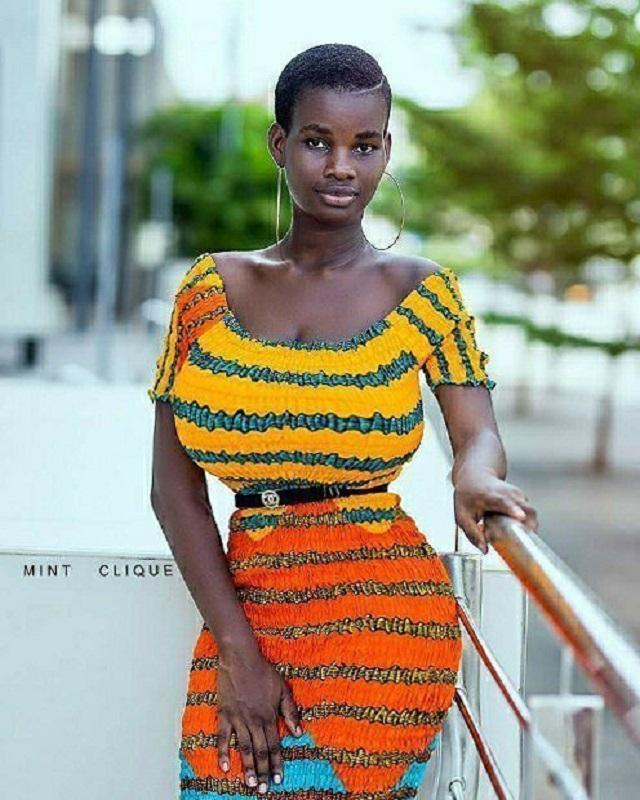 Pamela Watara: Girl 21, with the biggest breast in Ghana [Photos]