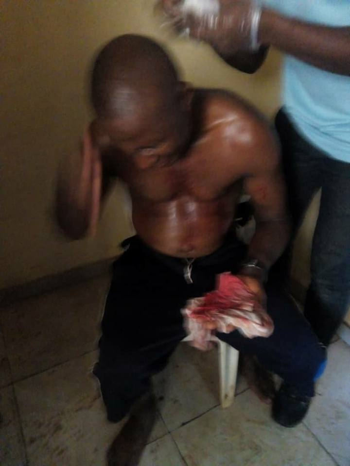Referee beaten ruthlessly in Nigeria after match [Photos] 2