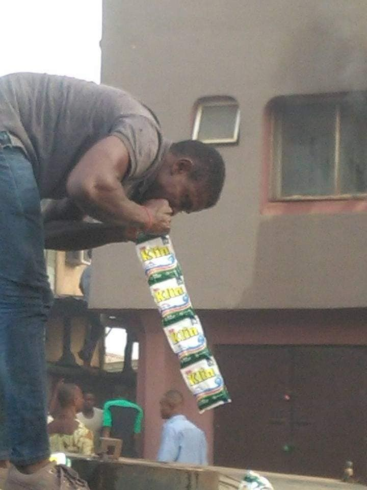 Untrained firefighters save 3 children from building using crude methods 1