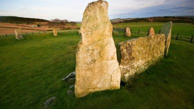 4,500-year-old stone circle appears to be fake 3