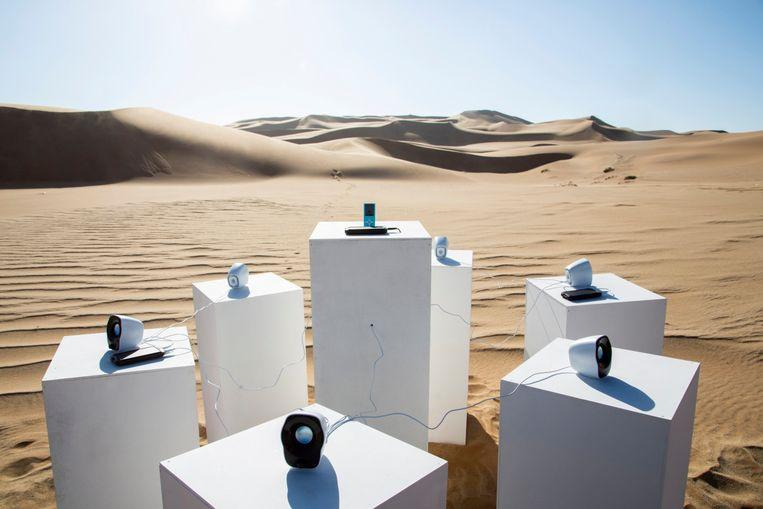Namib desert: 'Africa' by Toto installed to play till eternity 1