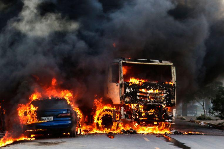 Arson and violence ravages north of Brazil 1