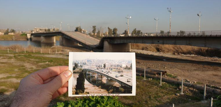 Before and after: old postcards show destruction by IS 1