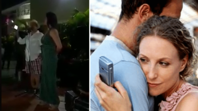 Husband organized a party to expose infidelity of his wife