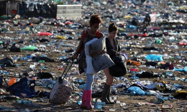 Festival Glastonbury prohibits plastic bottles