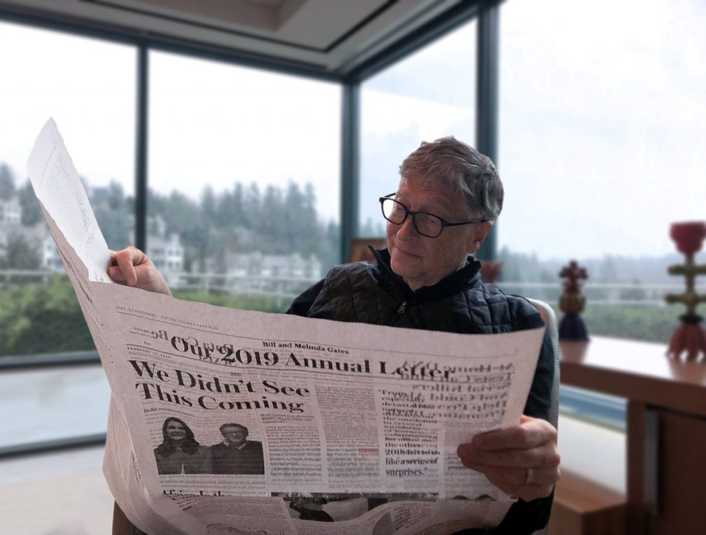 The world is growing, but Africa remains the same - Bill Gates