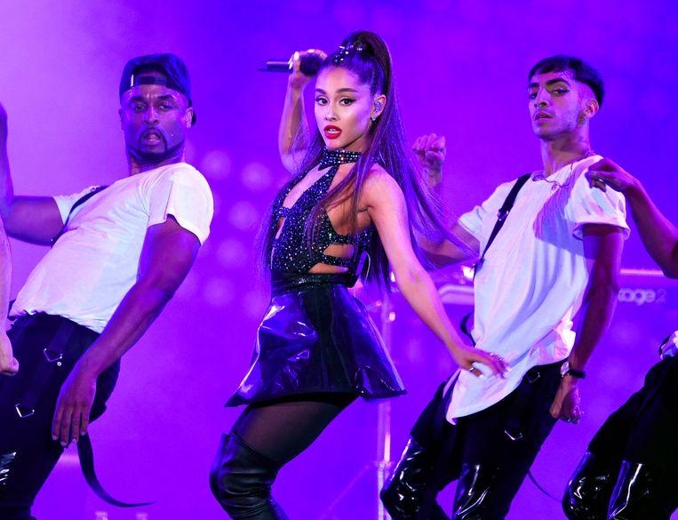 Ariana Grande most popular singer on YouTube