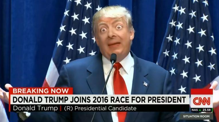 viral 'Deepfake' creation of Donald Trump and... Bean
