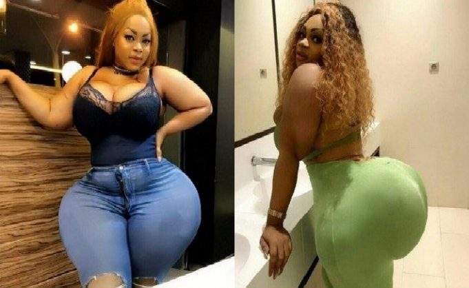In photos. Eudoxie Yao African biggest hip in Benin