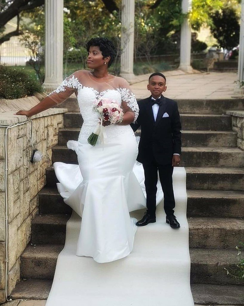 Viral photos of Themba Ntuli, SA actor with child's stature