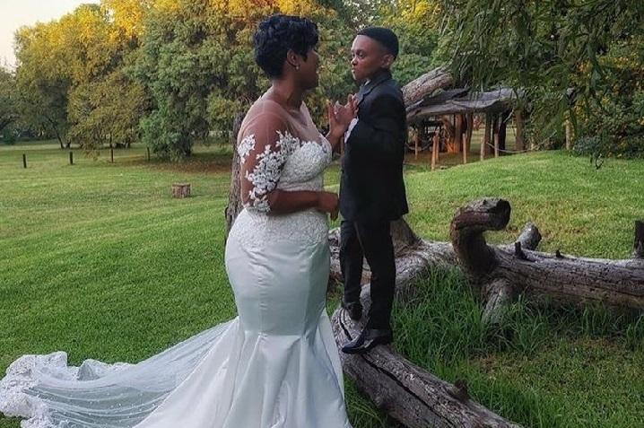 South African Actor Themba Ntuli weds the love of his life
