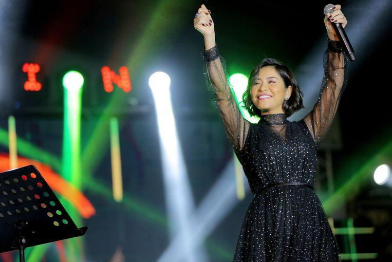 Photo of Egyptian singer Sherine Abel-Wahab ban in her own country