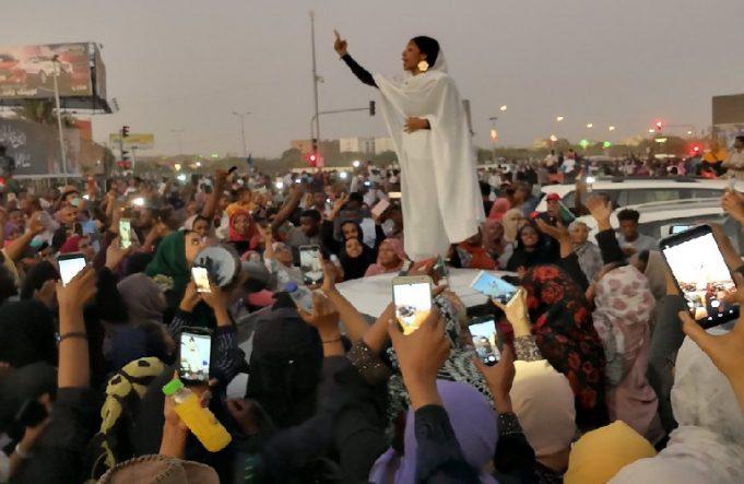 Iconic lady Alaa Salah behind the Sudan Uprising