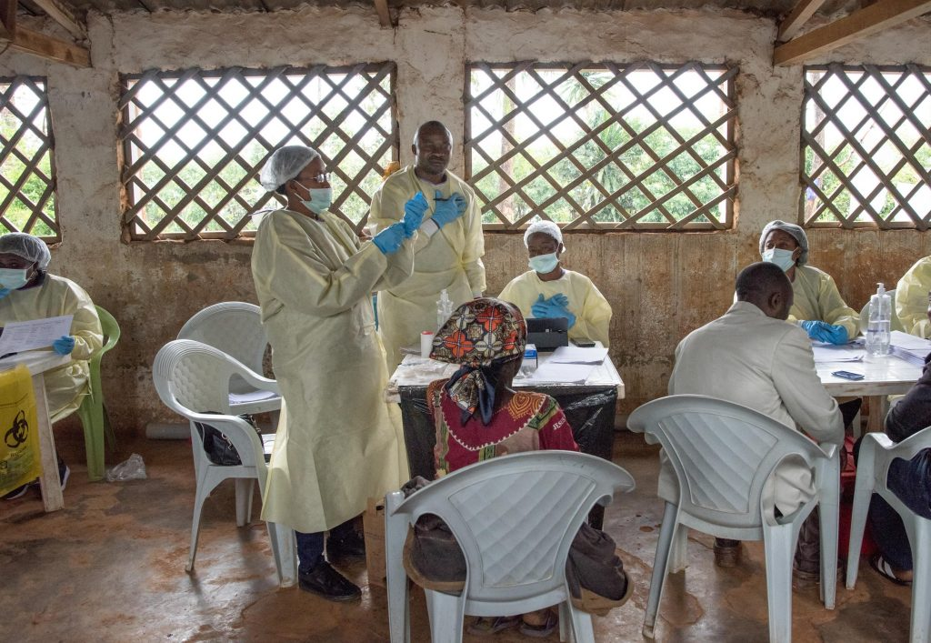 More than 90 health workers infected with Ebola in the Democratic Republic of Congo (DRC)