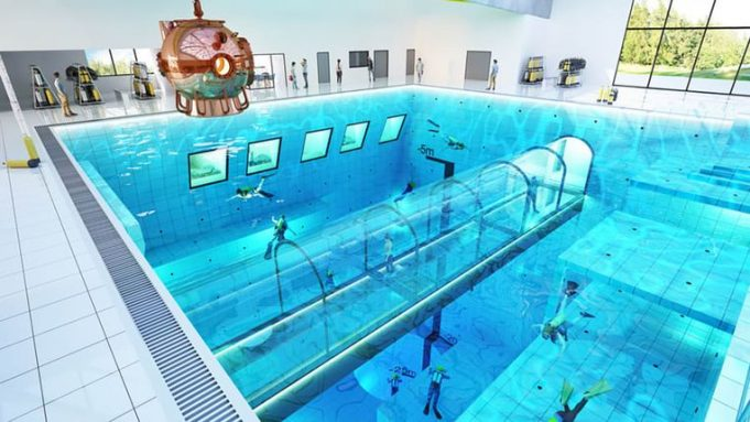 Deepspot: World's deepest swimming pool in Poland 45m deep
