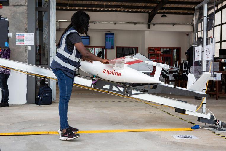 Medical drones to save lives in Ghana