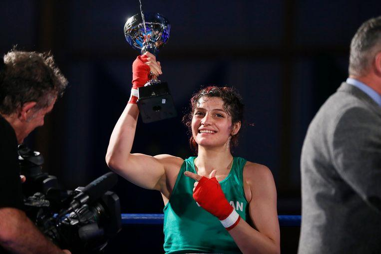 Sadaf Khadem, first Iranian woman ever wins official boxing match