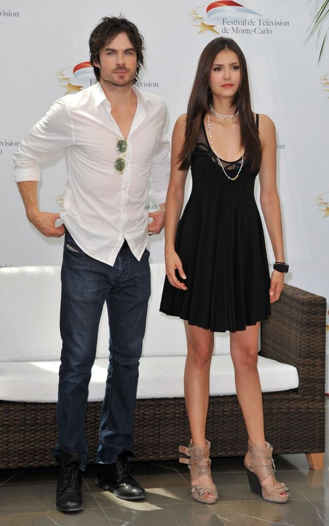 For 'Vampire Diaries' couple Nina Dobrev and Ian Somerhalder the romance was over after three years.